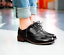 Womens-Low-Heel-Wingtip-Lace-Up-Oxford-Retro-Brogues-Girl-Preppy-Pu-Shoes-N212 thumbnail 12