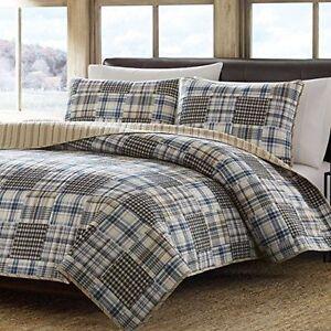 NEW-NIB-Eddie-Bauer-Cotton-Quilt-Set-CHOOSE-COLORS-AND-SIZES
