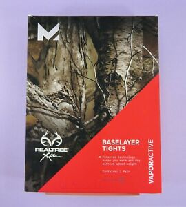 New-MISSION-Baselayer-Tights-Vaporactive-Realtree-Xtra-Size-XL-38-40-49-99
