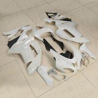 Unpainted Fairing Body Set Kits For Kawasaki Ninja Zx6r Zx-6r Zx600 2007-2008
