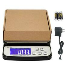 50kg Postal Scale 110lb X 01oz Digital Shipping Scale Weight Postage Ac Adapter