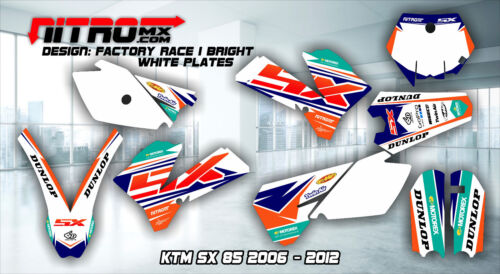 NitroMX Graphic Kit for KTM SX 85 SX85 2006 2007 2008 2009 2010 2011 2012 Decals