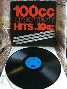 10CC VINYL 100cc greatest hits of 10CC LP UK 1st Press 1975 DONNA rubber bullets