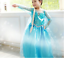 Frozen Disney Girls Inspired Princess Dress Anna Elsa Party Fancy Dress Costume