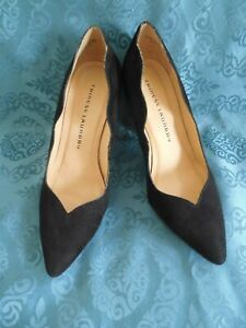 CHINESE-LAUNDRY-New-womens-Shoes-Black-Suede-Heels-size-8M