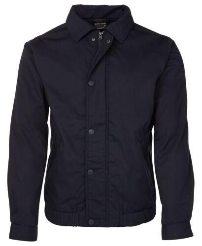 Jb/'s wear Contrast Jacket Wide Wind Flaps Internal Pocket Fitted Basque at Waist