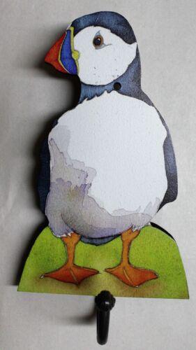 Wall Hook Hanger Coat Bag Kitchen Towel Home Hall Wooden Bird Animal Padblocks