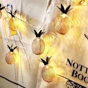20LED Solar String Ball Lights Outdoor Warm White Garden Decor Atmosphere Lamp