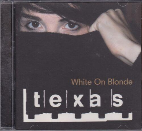 1 of 1 - TEXAS - WHITE ON BLONDE - CD -