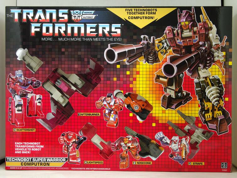 Transformers computron G1 Re-Issue BRAND NEW Comme neuf dans boîte scellée collection jouets et eaux