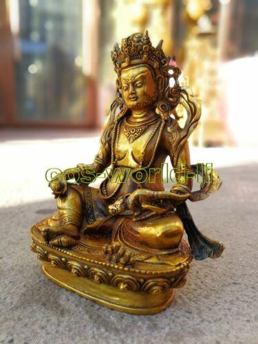 bronze buddha Buddhis God Tara Lucky antique Buddhism carved Bodhisattva statue