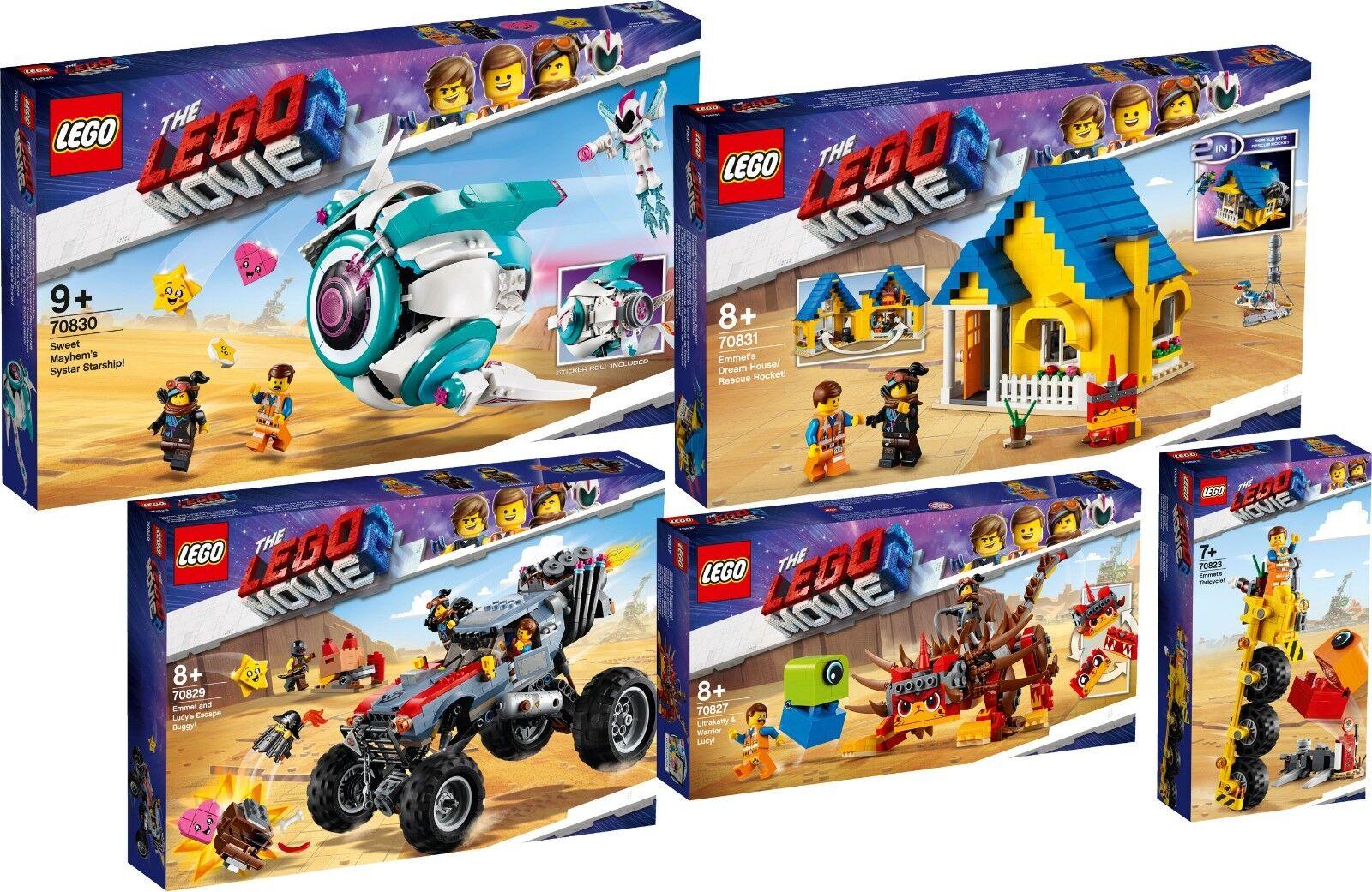 Lego The Lego  Movie 2 ™ 70831 70830 70829 70827 70823 Emmet Warrior-Lucy N1 19  jusqu'à 42% de réduction