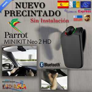 Manos-Libres-Parrot-Minikit-Neo-2-HD-Negro-NUEVO-Bluetooth-Portable-Car-Kit-61