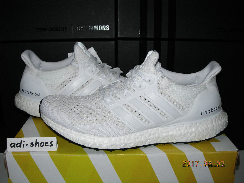 2015 ADIDAS ULTRA BOOST 1.0 W TRIPLE Weiß OG Gr.40 40,5 ltd S77513 energy 2.0 Reparieren