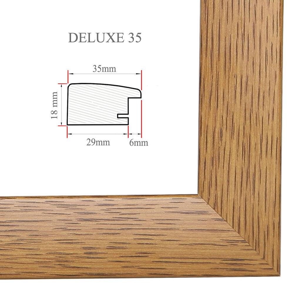 Deluxe 35 marcos marcos marcos 61x115 cm o cm 115x61 foto galería   marco póster c841f1