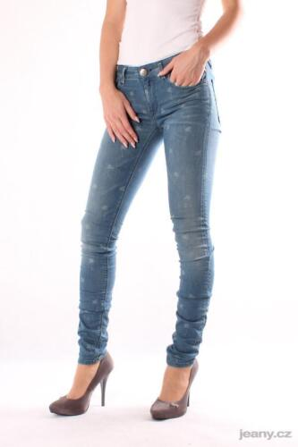 trousers skinny denim NUOVO Donna Jeans REPLAY wx689 535 395 010 Luz pantaloni