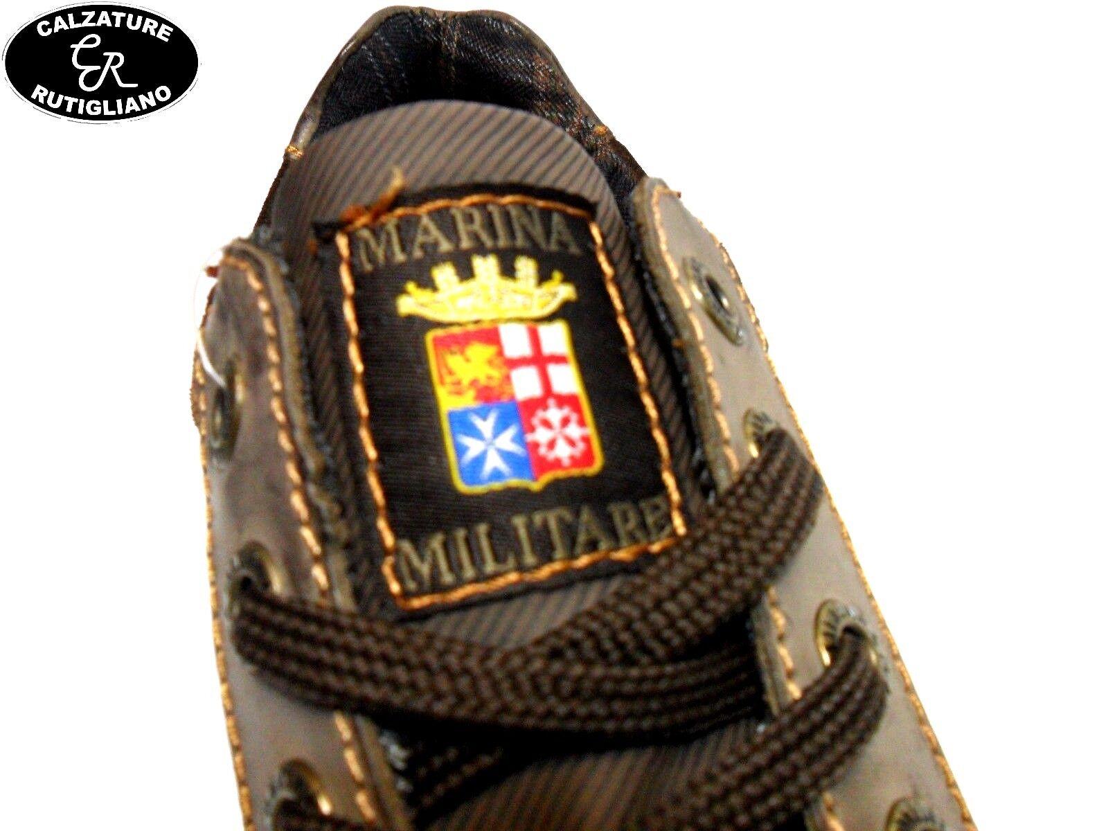 MARINA MILITARE SCARPE UOMO UOMO UOMO MODELLO scarpe da ginnastica MarroneeE PELLE CAMOSCIO - MM1570 | Cliente Al Primo  | Uomini/Donna Scarpa  03e421
