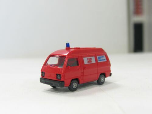 Policía-bomberos-RTW-luz azul gangas prestigio!! ww1552 vehículos etc