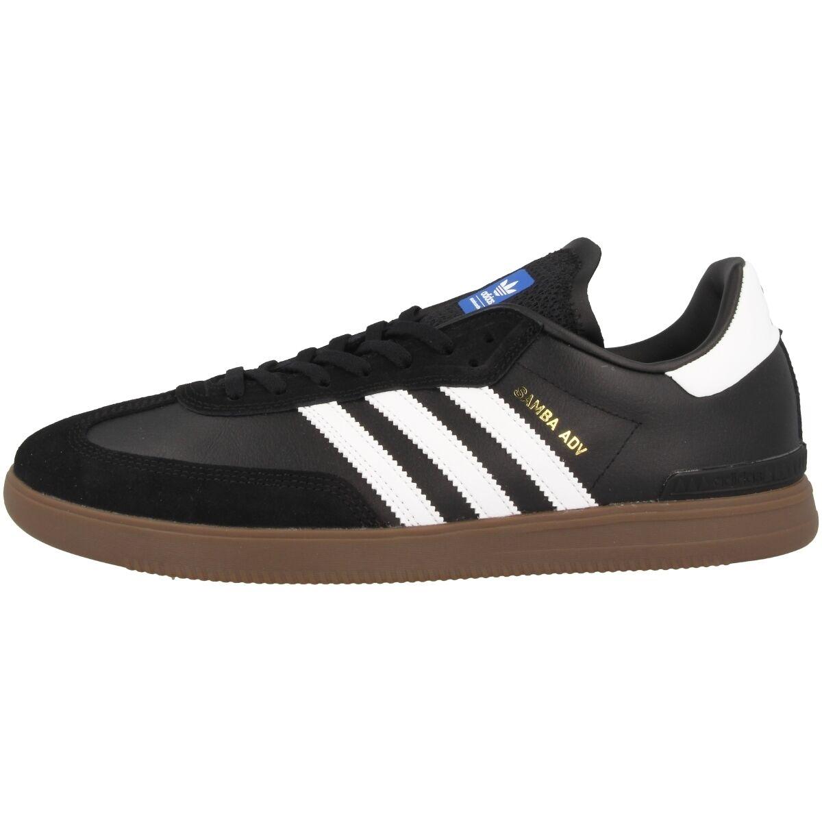 adidas samba top adv chaussures originales niedrigen top samba - skate - korb noir bb8685 473088