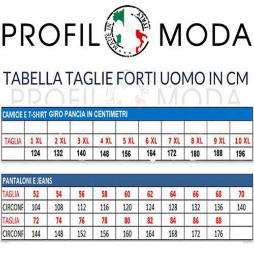Manica E Estiva Cotone Corta Camicia Mezza Uomo Lino Taglie E8861 Maxfort Forti qSXwf1n0xC