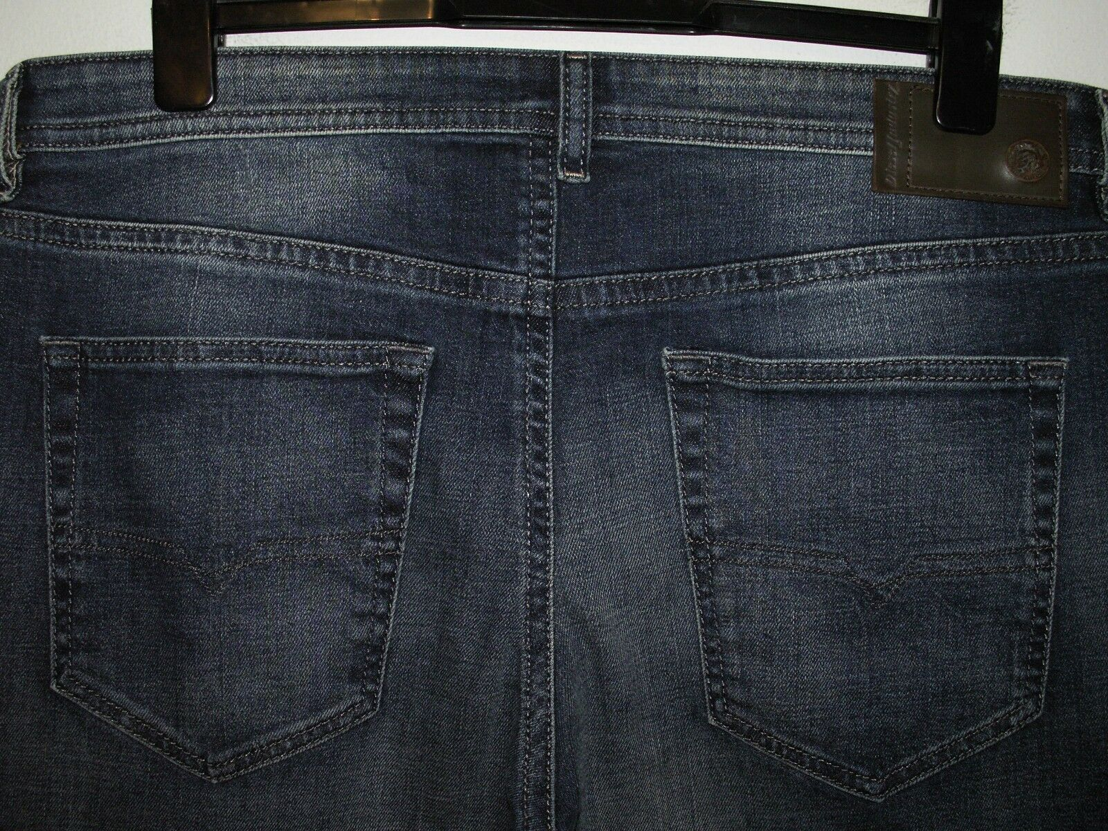 DIESEL BUSTER SLIM-TAPErot JEANS 0850K STRETCH W38 L32 5703  sale