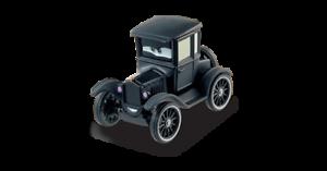 AUS RADIATOR SPRINGS 1919 FORD T MODELL CARS 1:55 DIE ALTE LIZZIE NEU
