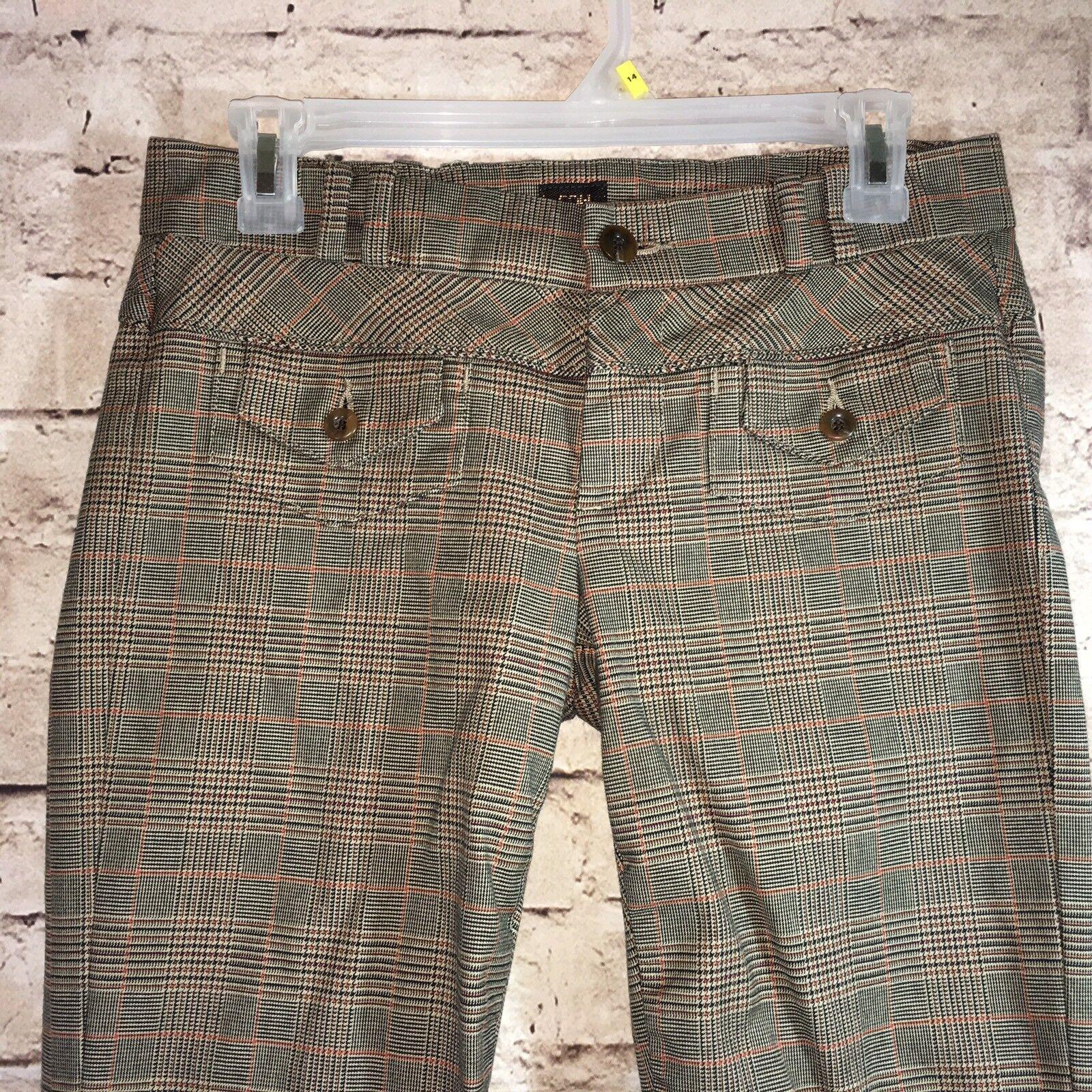 COH Citizen of Humanity  damen sz 27 braun Windowpane Stiefelcut Pants