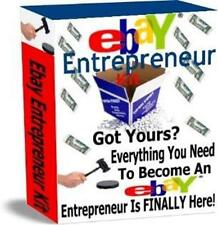 Ebay Entrepreneur Kit Ebook On CD $3.99 Plus Full Resale Rights Free Shipping