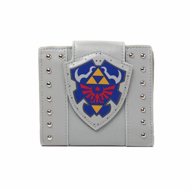 Retro Legend of Zelda Links Shield Bi-Fold Wallet - Gamers Merch