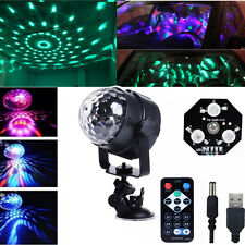 Magic Rotating Ball Stage Light RGB Remote LED KTV Party Disco Wedding Bar Light