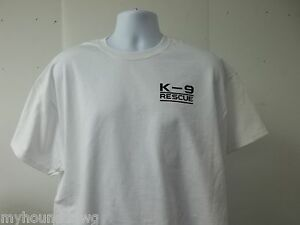 K-9-Rescue-Animal-T-Shirt-Choice-of-Colors-Free-Shipping-in-USA