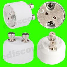 HIGH QUALITY GU10 To MR16 Lamp Holder Adaptor Converter UK STOCK - FAST DISPATCH