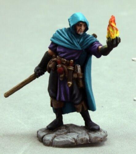 03606  Ellus Mann REAPER MINIATURES DARK HEAVEN Wizard