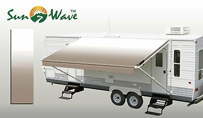 19 Ft RV Awning Replacement Camper Trailer Vinyl Fabric ...