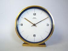DUGENA ELECTRIC DESK CLOCK MID CENTURY MODERN HERMLE ART DECO BAUHAUS DESK