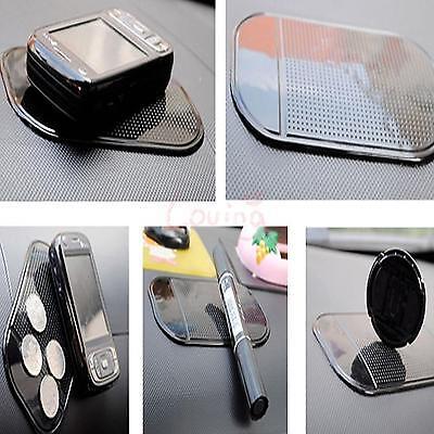2 X Gel Anti-slip Car Dashboard Sticky Non Slip Pad Mat Holder For Phone Key etc