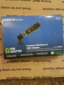 Linksys Compact Wireless G USB Adapter WUSB54GC Sealed