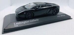 Minichamps 1/43 Lamborghini Gallardo (2006) Black 400103504