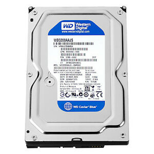 5031f5cd9a6 Image is loading WESTERN-DIGITAL-WD3200AAJS-Caviar-Blue-320GB-7200rpm-SATA-