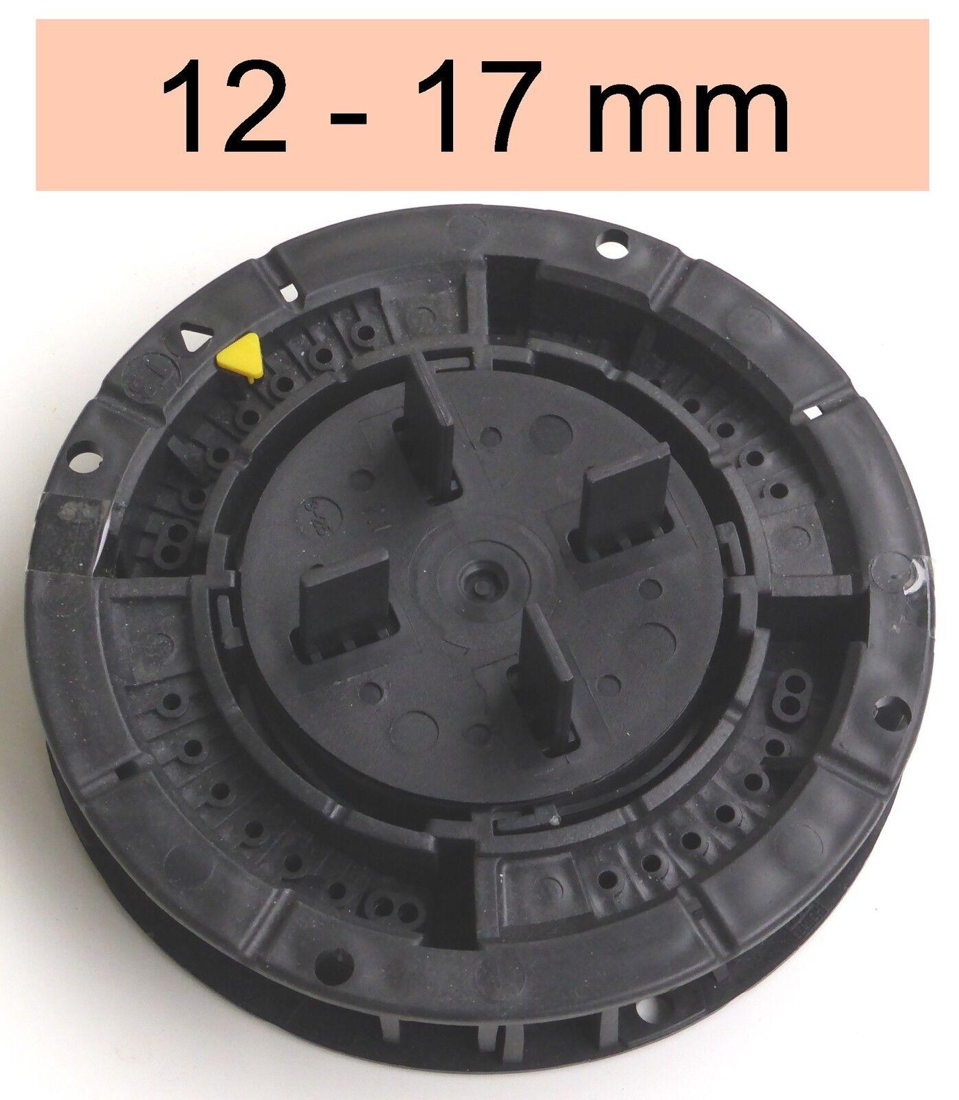 16 Stelzlager Höhe 12-17mm f. Terrazzofliesen Terrassenbelag kaufen bau.con ::