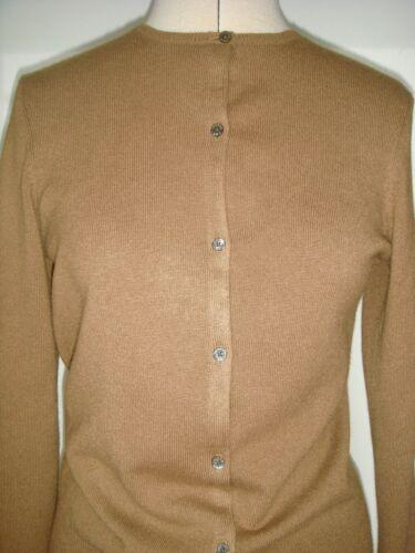 • 40 soft Butter 100 cashmere cardigan card M Lauren in cashmere Ralph 38 6AF01xqwU