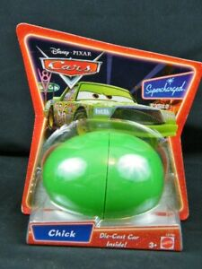 Disney-Pixar-Cars-Supercharged-Die-Cast-Car-In-Egg-CHICK-HICKS-NIP