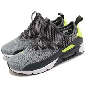 new style 154aa 63d7a Image is loading Nike-Air-Max-90-EZ-Dark-Grey-Volt-