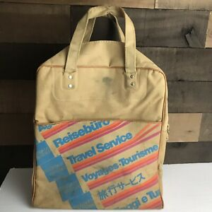 Vintage-70s-American-Express-Travel-Service-Agent-Carry-On-Luggage-Airline-Bag