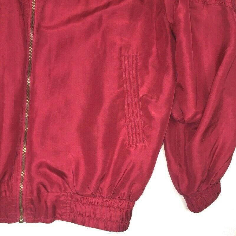 Fuda International Womens PM  Jacket Red Gold Sil… - image 2