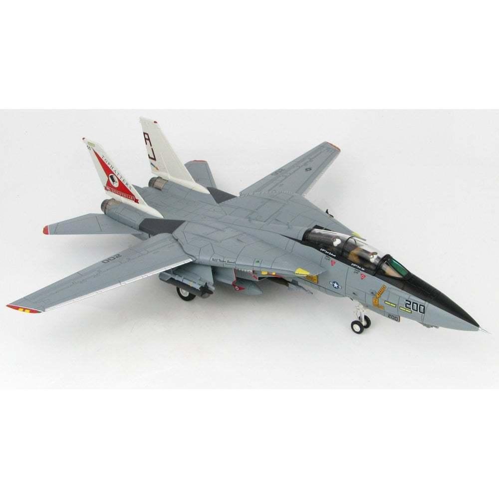 HOBBY Master HA5214 1/72 F-14A TOMCAT In perfatta condizione-14 Tophatters 80th ANNIVERSARIO 1999