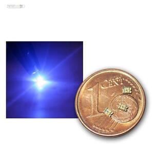 50 x LED 1,8 mm klar BLAU blue bleu blauw