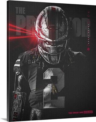 Chase Young Ohio State Buckeyes Football 16x20 Canvas The Predator Ebay