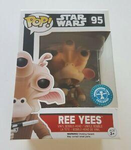 Funko-Pop-Star-Wars-95-Ree-Yees-Underground-Toys-Exclusive