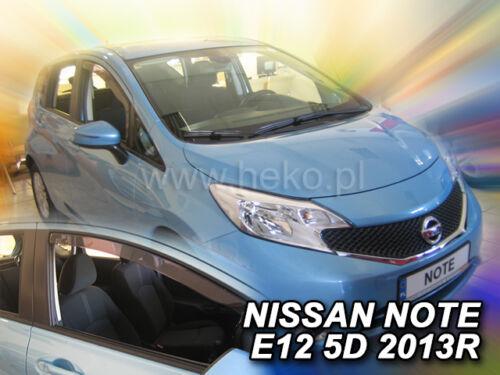 Heko derivabrisas Nissan Note e12 5 puertas a partir de 2013 2 piezas regenabweiser 24283